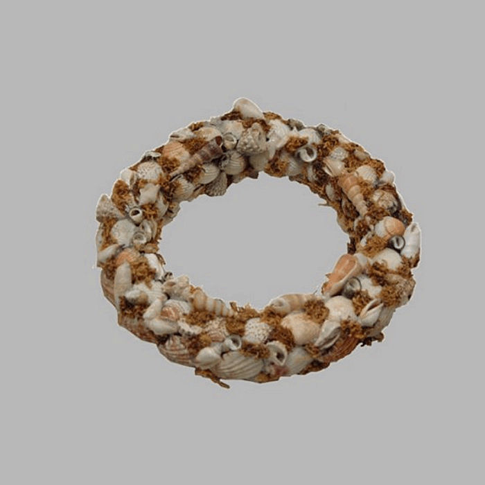 wreath of sea shells Seagull 28 cm