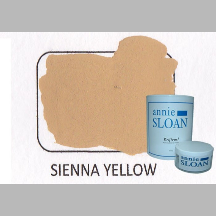 Sienna Yellow | chalk paint of Annie Sloan