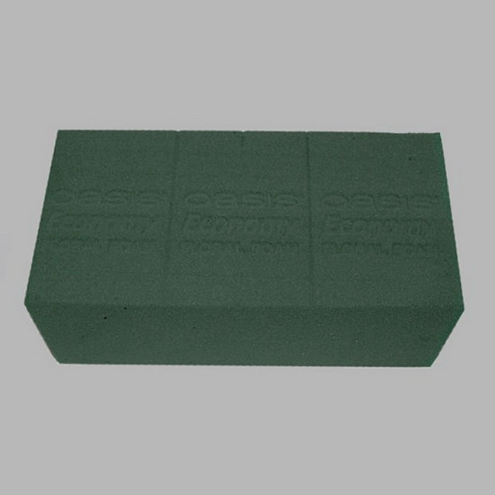Floral foam per box (20 pcs ) Oasis green 20 x 7 x 10 cm