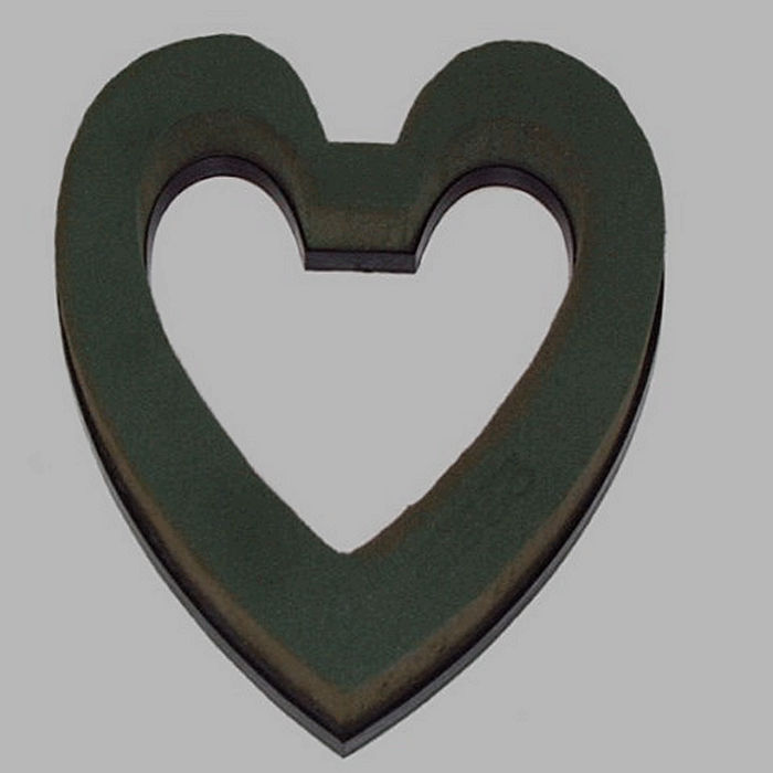 floral foam Oasis heart open thickness 3 cm 22 x 22 cm