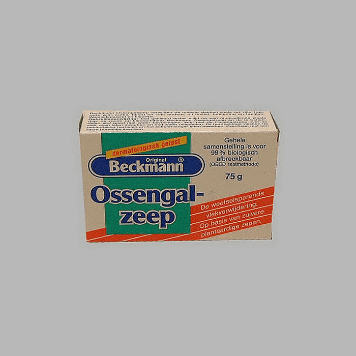 Dr Beckman ossengal soap for textile