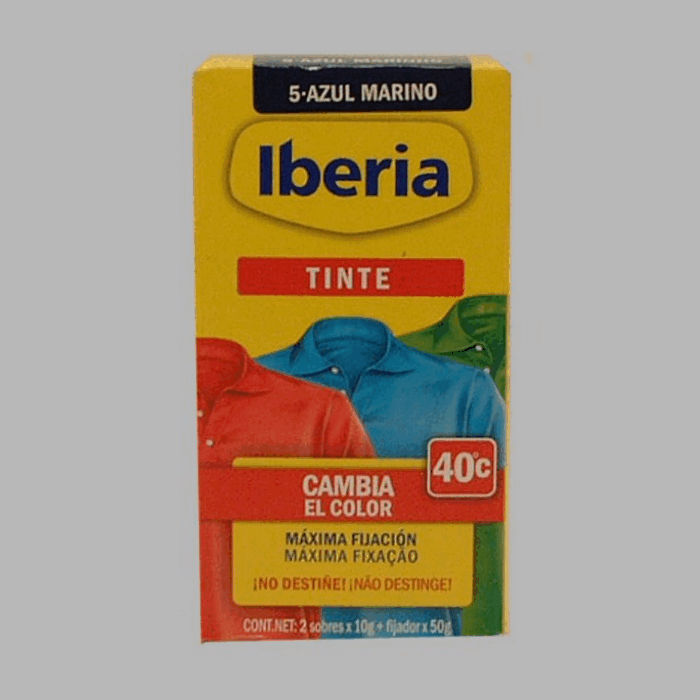 Iberia fabric paint dark blue