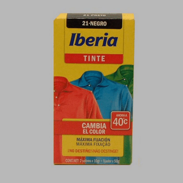 Iberia fabric paint black