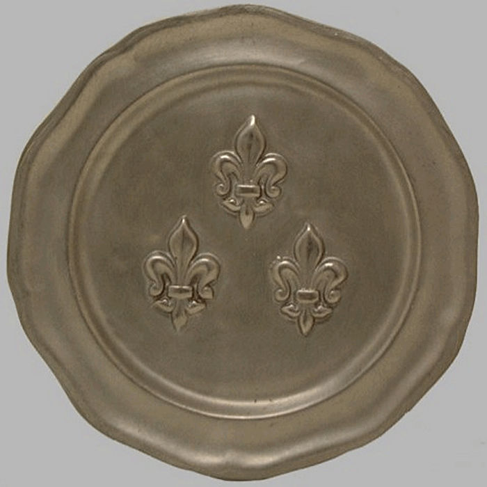 Tin plate lily french