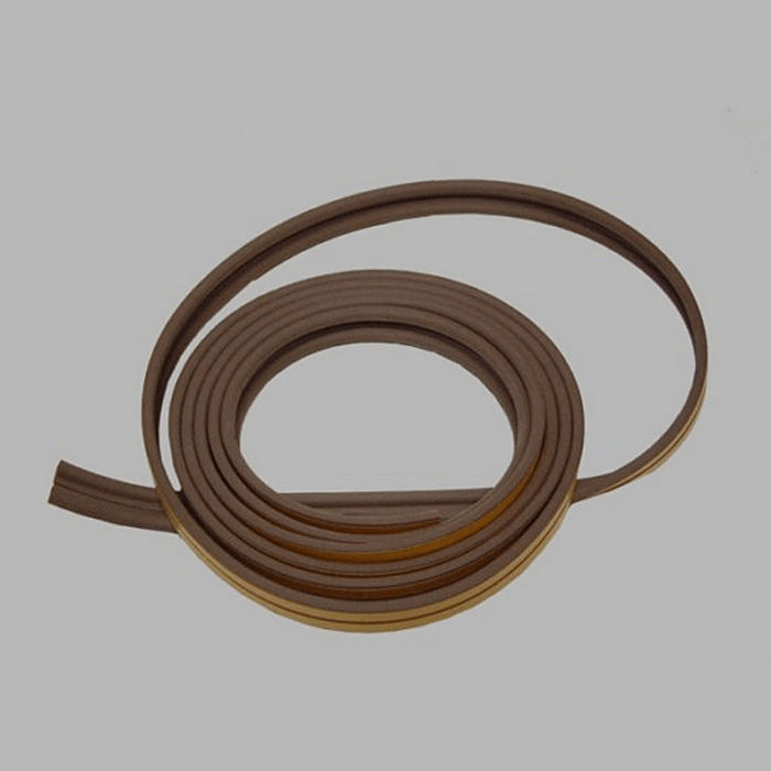 cold resistant band of rubber color brown length 6 meters