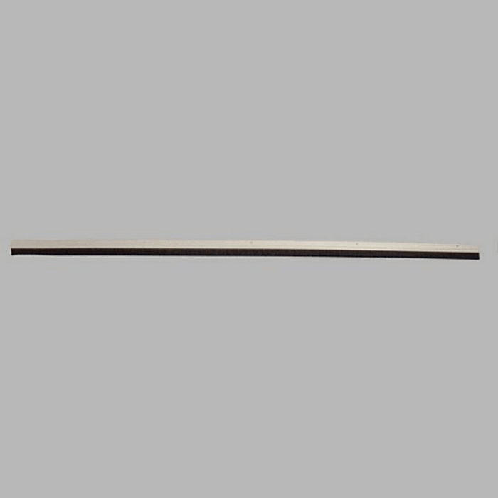 weather strip with white brush length 95 cm