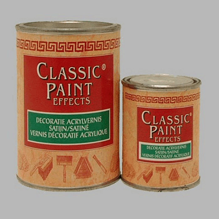 Decorative Paint Effects classis satin acrylic varnish