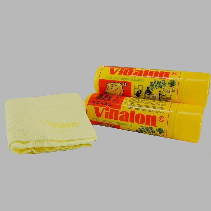 Vinalon plus chamois cleaning waffled cloth 45 x 66 cm