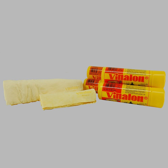 vinalon chamois smooth cleaning cloth 45 x 33 cm 45 x 66 cm