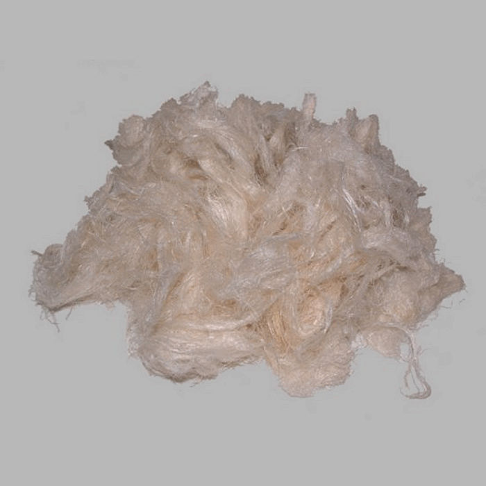 flax bleached white small package 50 gr