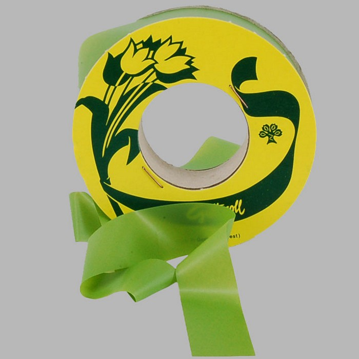 wrapping tape for flowers color green 25 mm role length 80 m