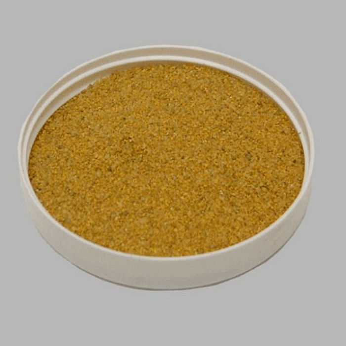 sand for decoration color yellow 200 gr