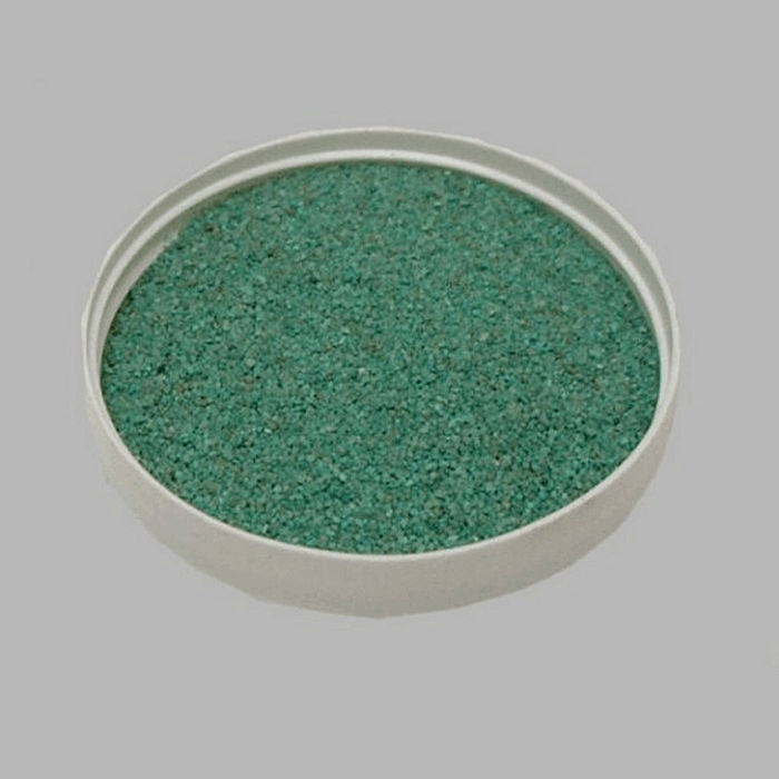 sand for decoration color turquoise 200 gr